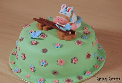 gâteau poney, gâteau enfant, modelage poney, pony cake, cake design, pâte à sucre, gumpaste, patissi-patatta