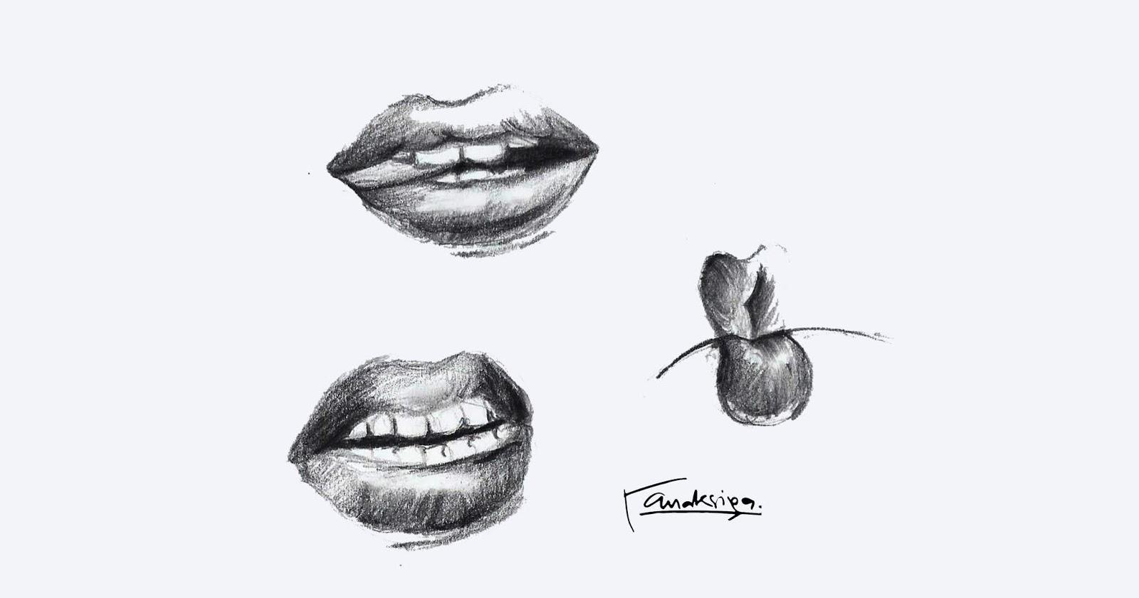 78+ Gambar Arsiran Hidung