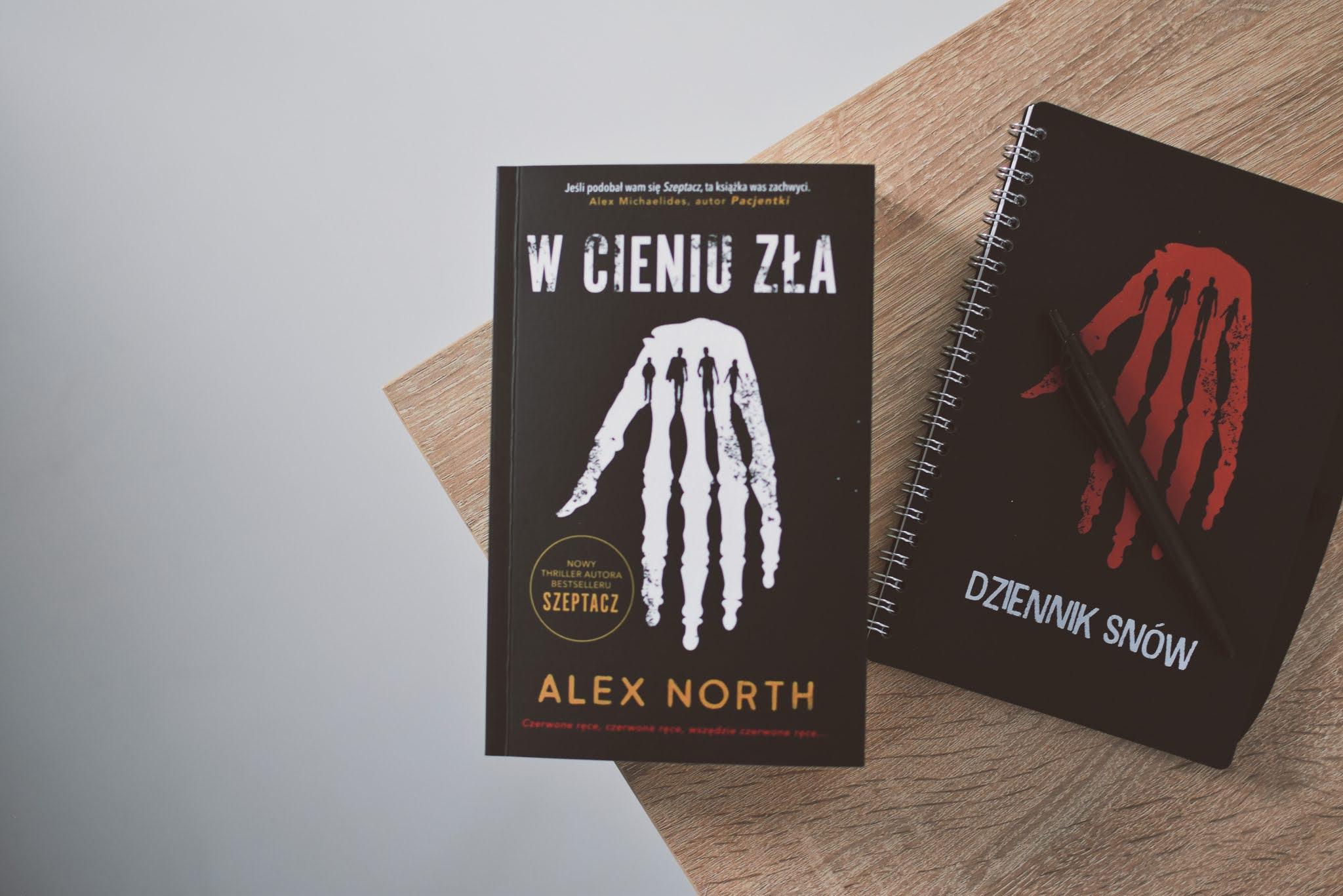 WydawnictwoMuza,AlexNorth, WCieniuZła,opowiadanie,recenzja,sny,thriller,strach,przerazajacaksiazka