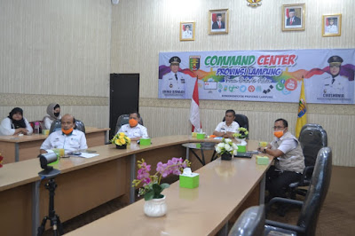 Pemprov Lampung Ikuti Rapat Bersama BNPB Bahas Rehabilitasi dan Rekonstruksi Pasca Bencana Tsunami Selat Sunda