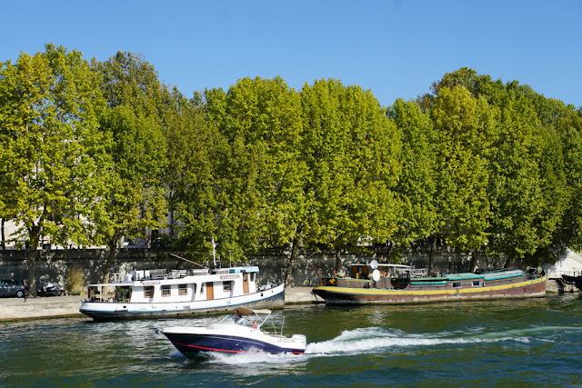 Passeio de barco pelo Rio Sena