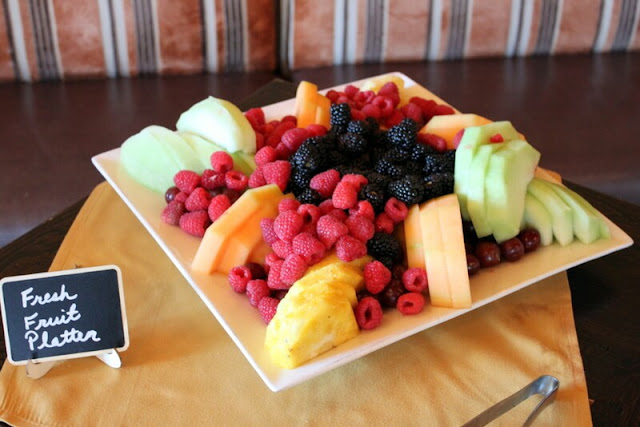 Brunch Must-Have = Fresh Fruit Assortment