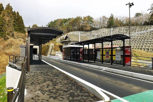 Estação na linha BRT de Kesennuma