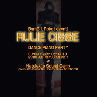 Rulie Cisse: BURN2: Natulax's Sound Camp