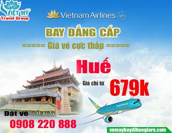 Vietnam Airlines khuyến mãi đi Huế giá chỉ từ 679k