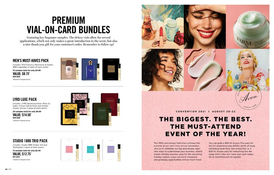 PREMIUM VIAL-ON-CARD BUNDLES