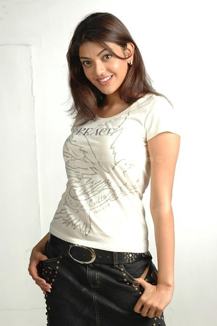 Kajal agarwal hot photos in jeans and top