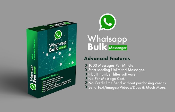 Jual Software Whatsapp Blast Anti Banned Terbaru 2020