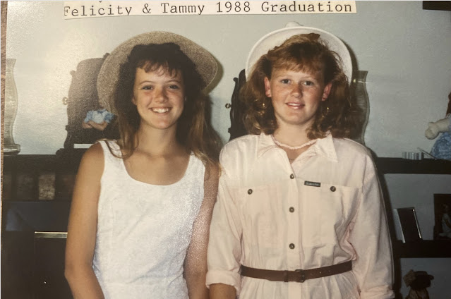 pic of two teen girls from 1988