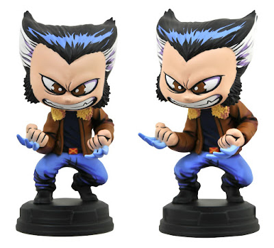 Logan Animated Marvel Mini Statue by Skottie Young x Gentle Giant x Diamond Select Toys