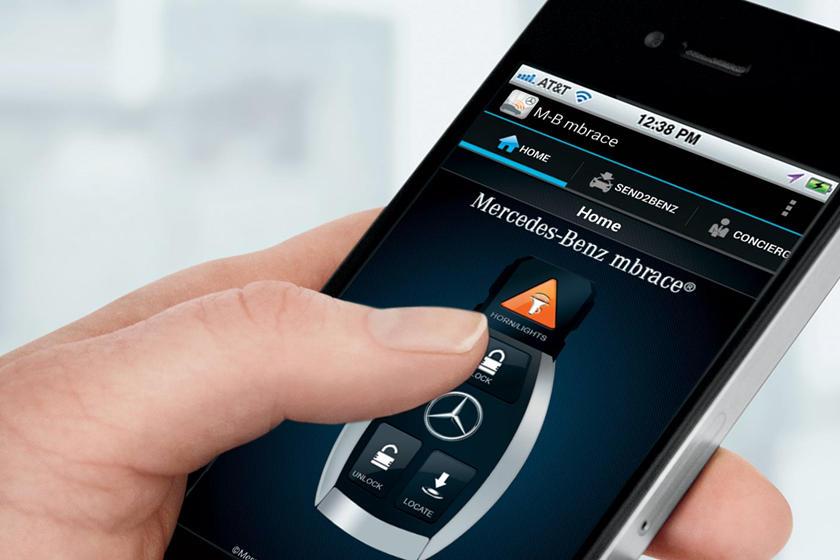 Điện thoại thông minh kết nối với ô tô