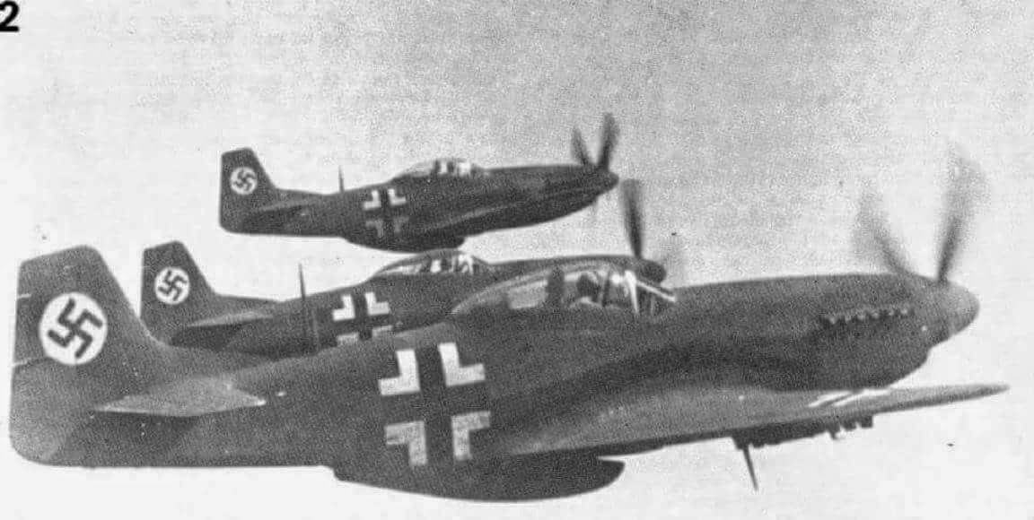 World War II In Pictures P 51 Mustang