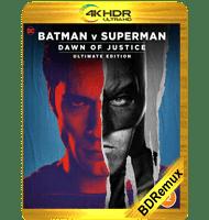 BATMAN VS SUPERMAN: EL ORIGEN DE LA JUSTICIA (2016) REMASTERED EXTENDED BDREMUX 2160P HDR MKV ESPAÑOL LATINO