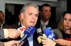 """Iván Duque llama a Maduro """"dictador oprobioso"""""""