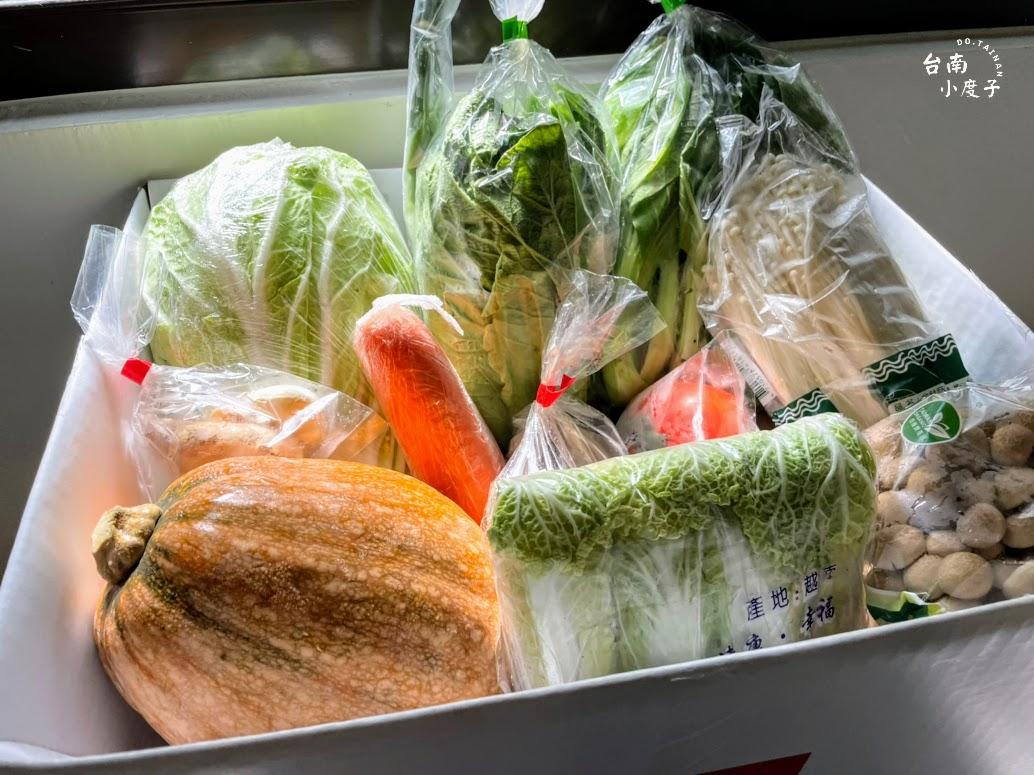 王品「戰在一起蔬菜箱」開箱!10種蔬菜+3款辛香料,新鮮配送 / 越是艱難,越要吃飯,才有力氣戰在一起!