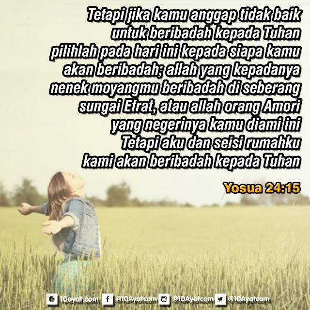 Yosua 24:15
