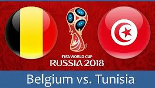 مباراة تونس و بلجيكا اليوم 23 - يونيو - 2018 قمة الجولة الثالثة من المجموعة السابعة بطولة كأس العالم 2018 روسيا