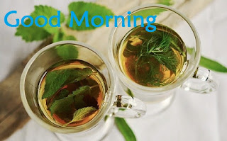 good morning tea images in hindi