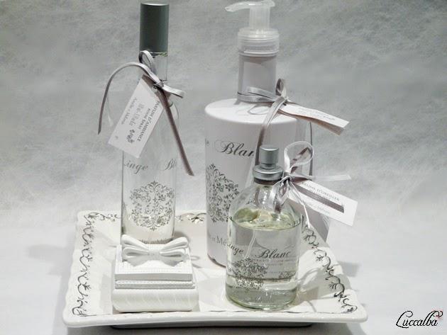 Productos de la gama Linge Blanc