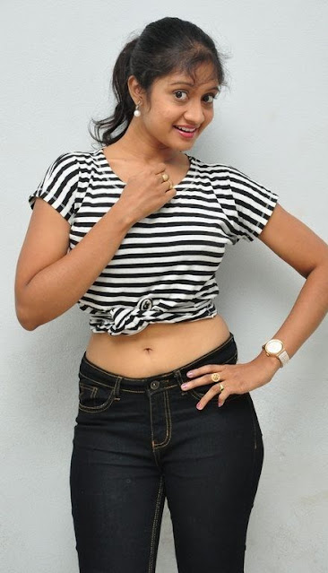 Telugu Actress Sandeepthi Sexy Navel Show Photo Stills In Jeans Navel Queens