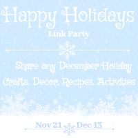 Happy Holidays Link Party 2019