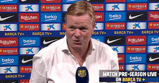 Koeman set to work on Barcelona tactical approach with the remaining two weeks before La Liga