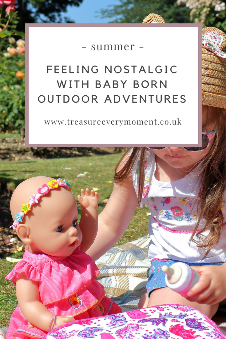 SUMMER: Feeling Nostalgic with Baby Born Outdoor Adventures