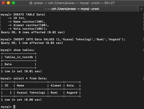 Apa itu Database dan Cara Membuat Database di CMD