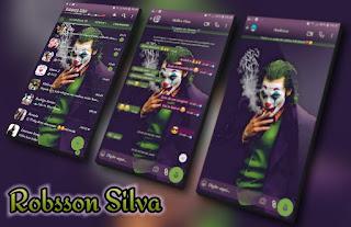 Dark Knight Joker Theme For YOWhatsApp & Fouad WhatsApp By Robsson