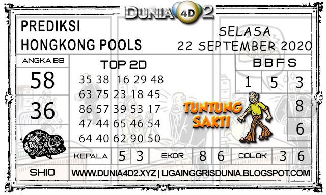 Prediksi Togel HONGKONG DUNIA4D2 22 SEPTEMBER 2020