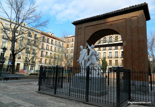 Monumento ao Dois de Maio em Malasaña, Madri