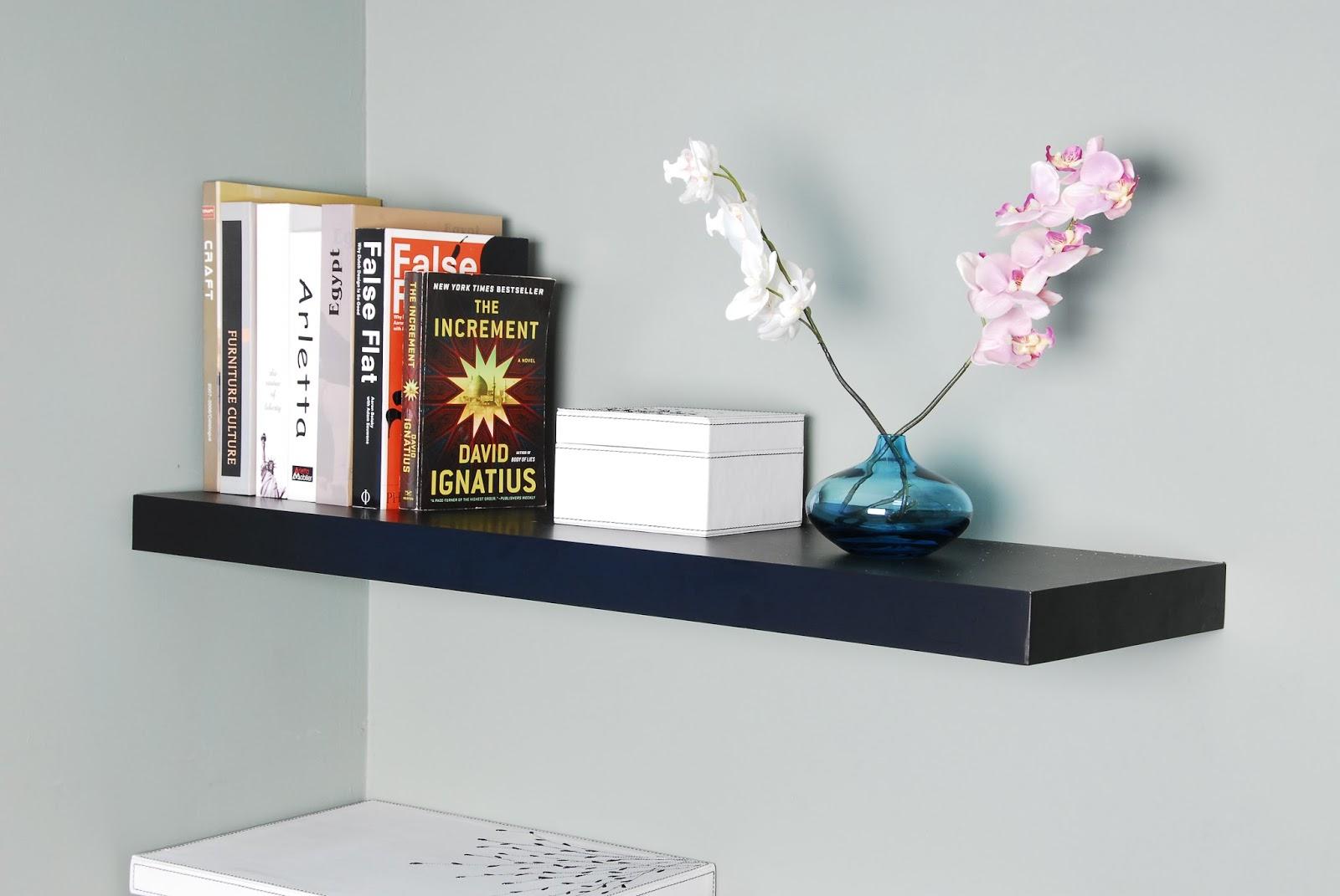 black walnut floating shelves 15 image