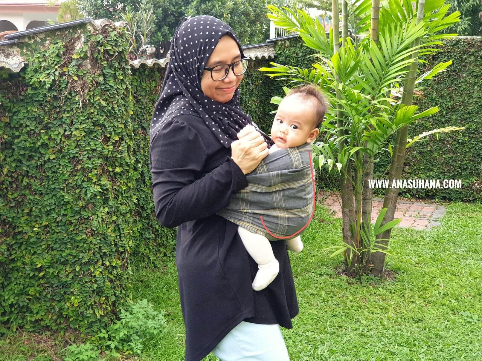Tips Atasi Bayi Kuat Menangis Dengan Mamaway's Baby Sling Carrier
