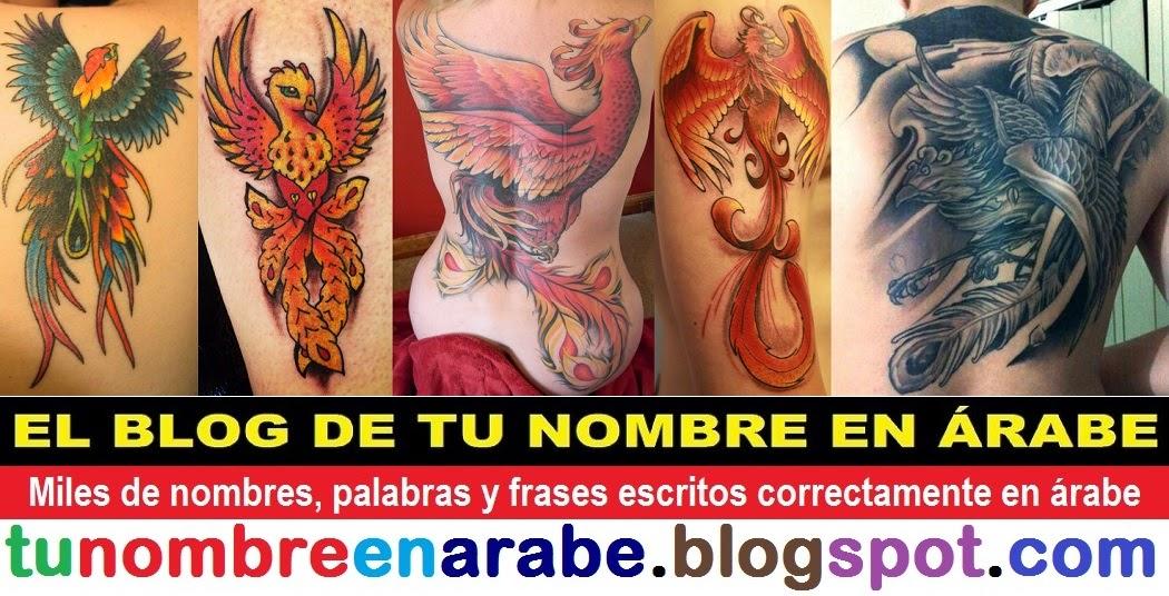 tatuajes ave fenix