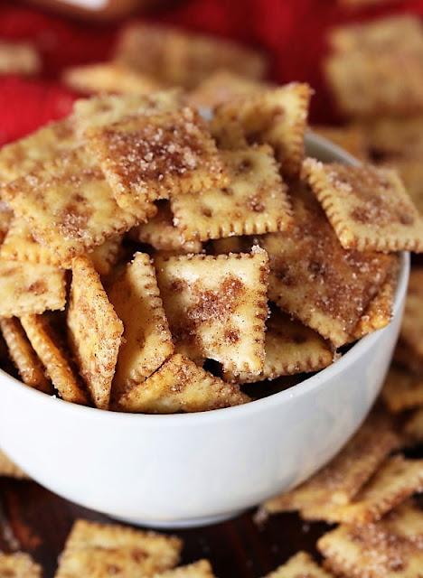 Cinnamon Sugar Crackers Image