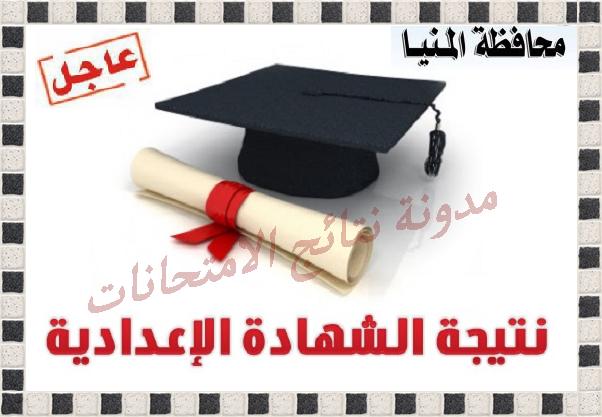 اعتماد نتيجة الصف الثالث الاعدادى محافظة المنيا الترم الثانى 2014 بنسبة نجاح 94%