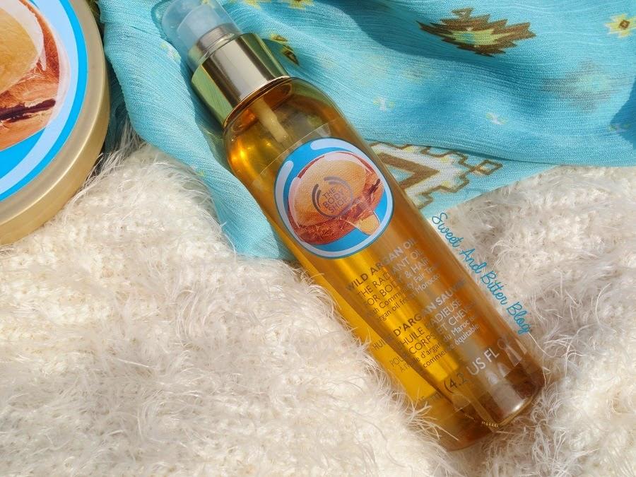 The Body Shop Wild Argan Oil Radiant Oil Review