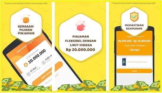 Pinjamaria Apk Pinjaman Online
