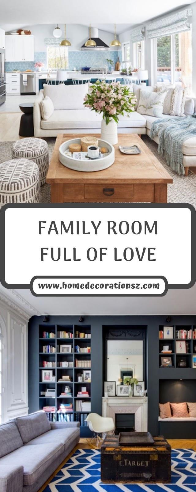 FAMILY ROOM FULL OF LOVE