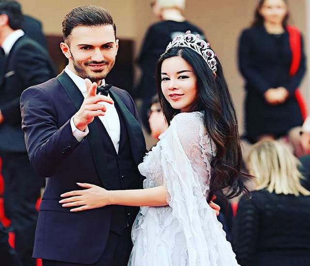 Albanian model Rolando Lekaj married to Chinese billionaire: We will bring 200 thousand masks to Tirana