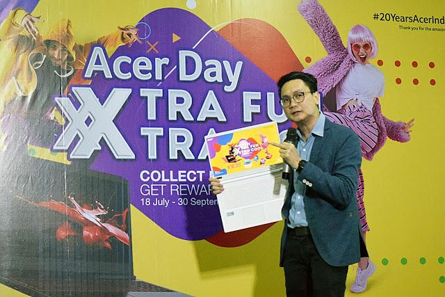 Keseruan Acer Day 2019 di Pontianak