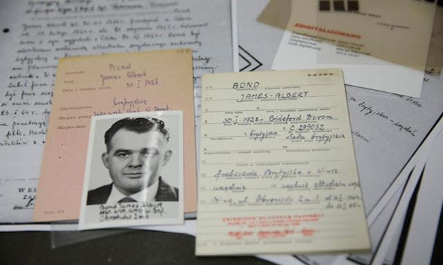 The name's Bond, James Bond: 007's namesake discovered in Polish Cold War archives