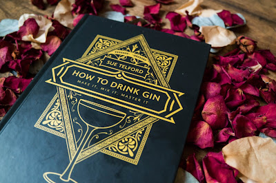 How To Drink Gin: Make It, Mix It, Master It' by Sue Telford flatlay