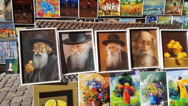 cuadros de judíos