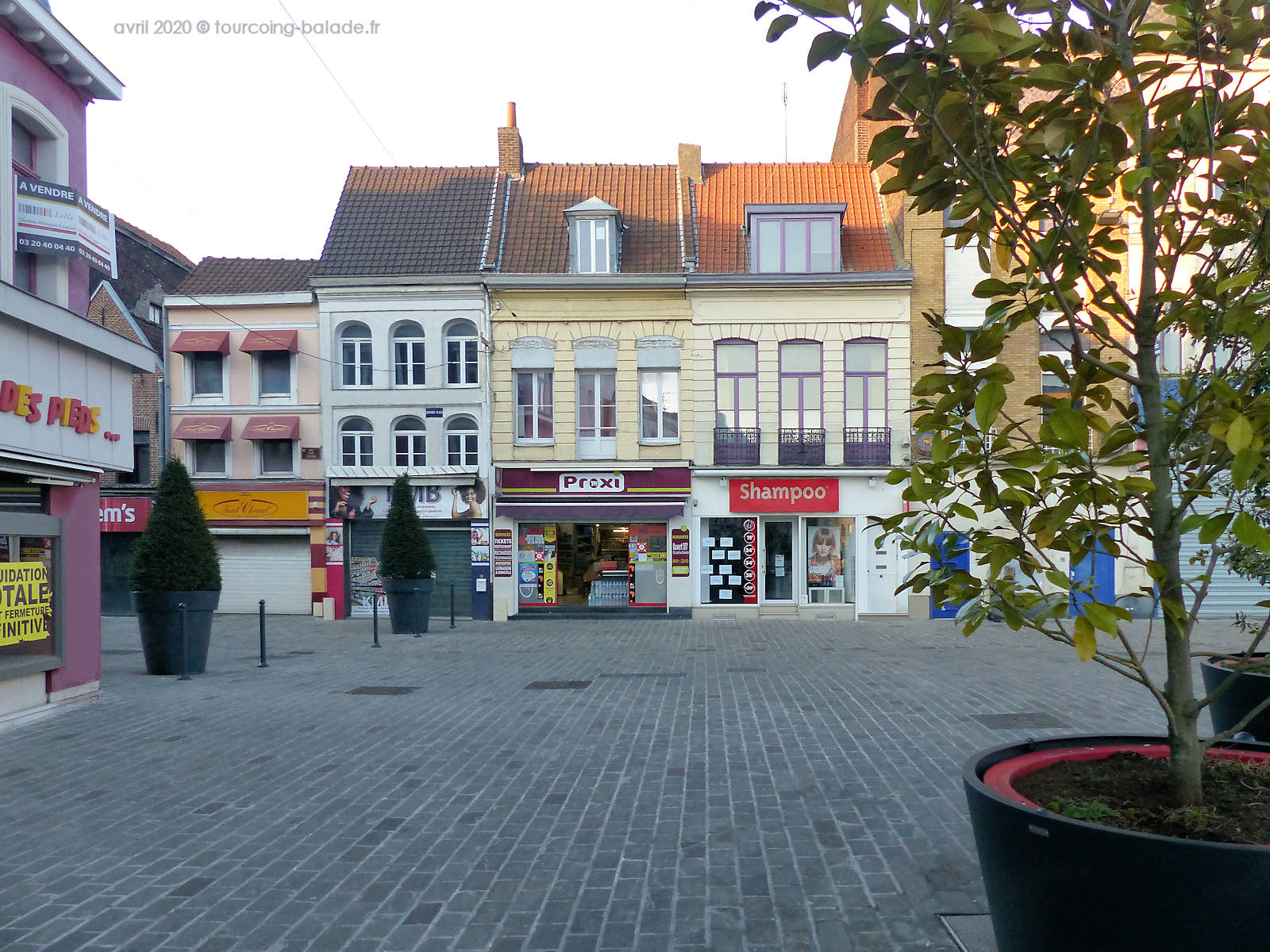 Grand Place Tourcoing - Proxi alimentation