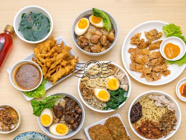 Delicious Homecook Noodles 阿嫲刀麻切 @ Ahma Pan Mee, Lebuh Tye Sin, Georgetown, Penang