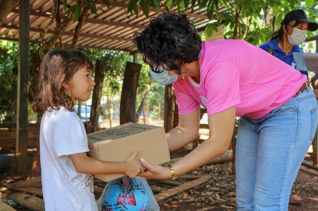 Senador Canedo: CRAS volante atende famílias na zona rural
