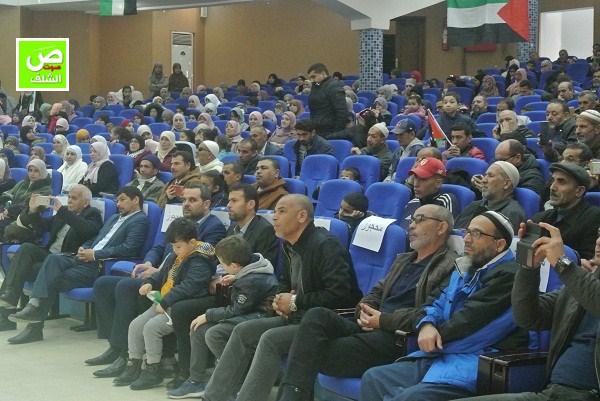 """بالفيديو ↔ جمعية البركة تنظم تجمع شعبي داعم لقضية """"فلسطين"""" بالشلف"""
