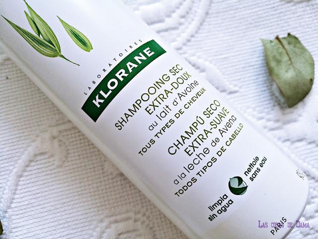 Champú Seco Leche Avena de Klorane pierre fabre savewater novedad beauty farmacia cabello