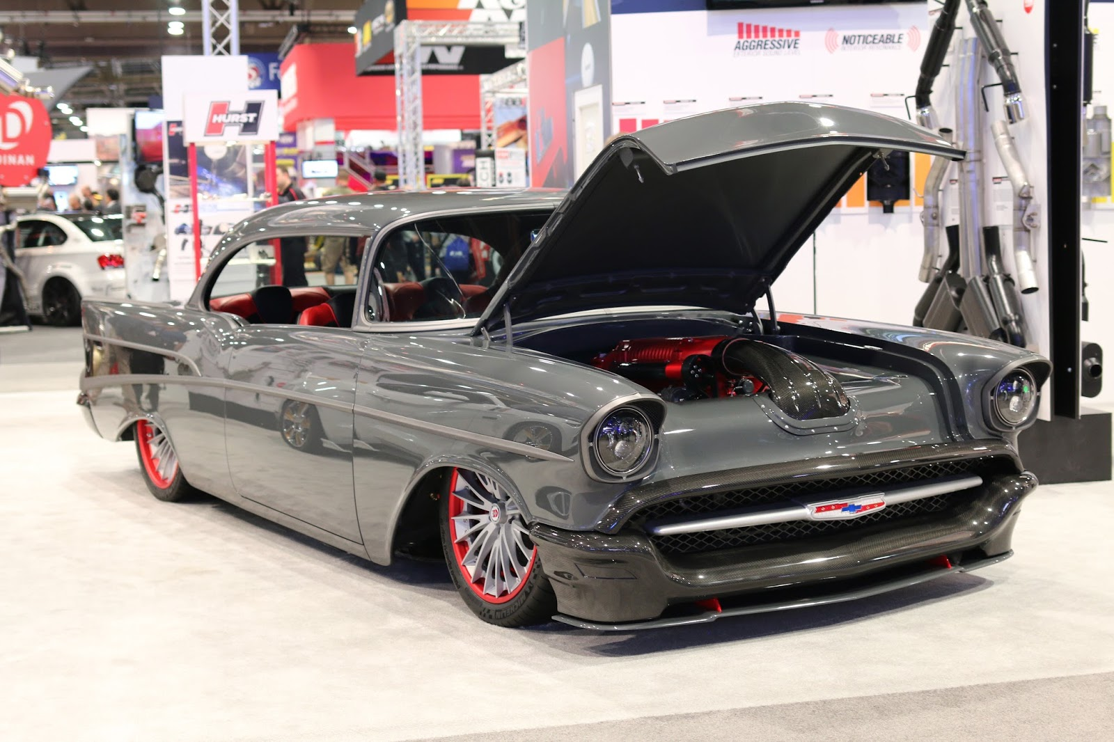 cars custom classic sema cool vehicles las vegas covering